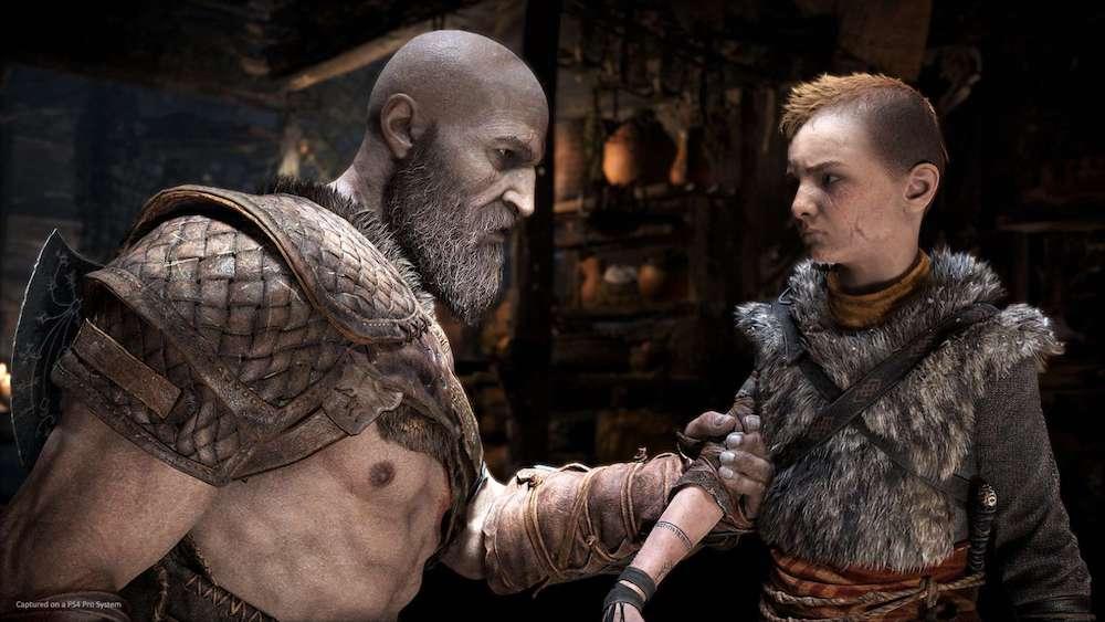 Kratos Atreus God of War