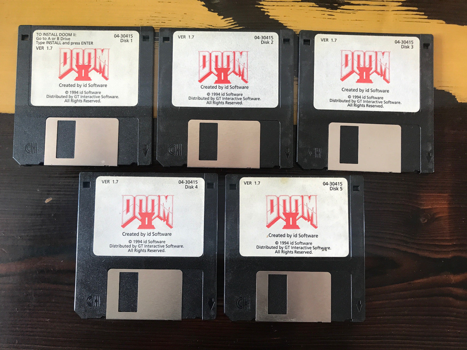 Doom 2 floppy disks