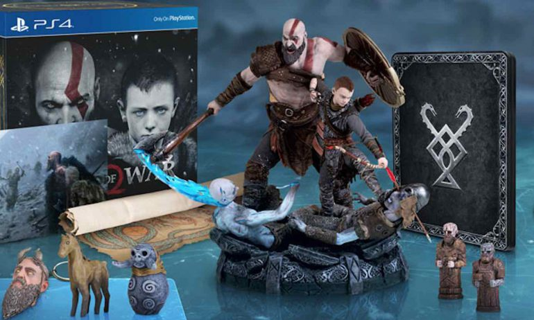 CE God of War PS4