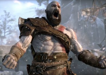 Kratos God of War Rage Angry