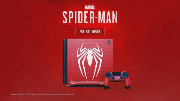 Spider-Man PS4 Rood PS4 Pro Dualshock 4