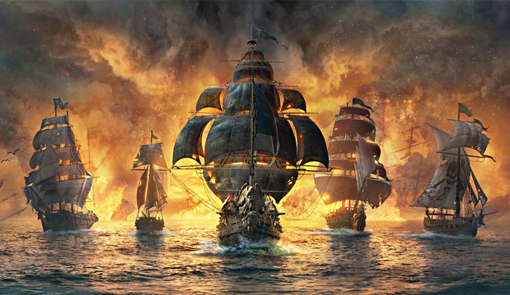 Skull And Bones Video Game 2018 Ubisoft: Ubisoft Stelt Piratengame Skull & Bones Uit