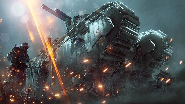 Battlefield 1 They Shall not Pass gratis op PS4