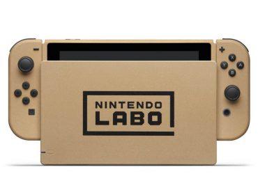 Nintendo Switch labo karton