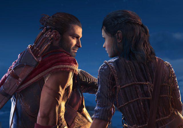 Assassin's Creed Odyssey Kyra en Alexios sparta Griekenland
