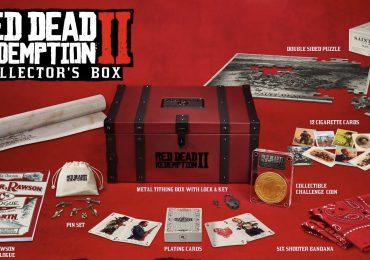 Red Dead Redemption collector's box kaarten munt coin verzamel
