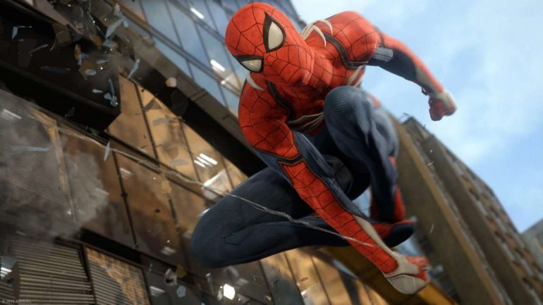 spider man web slingeren goud new york
