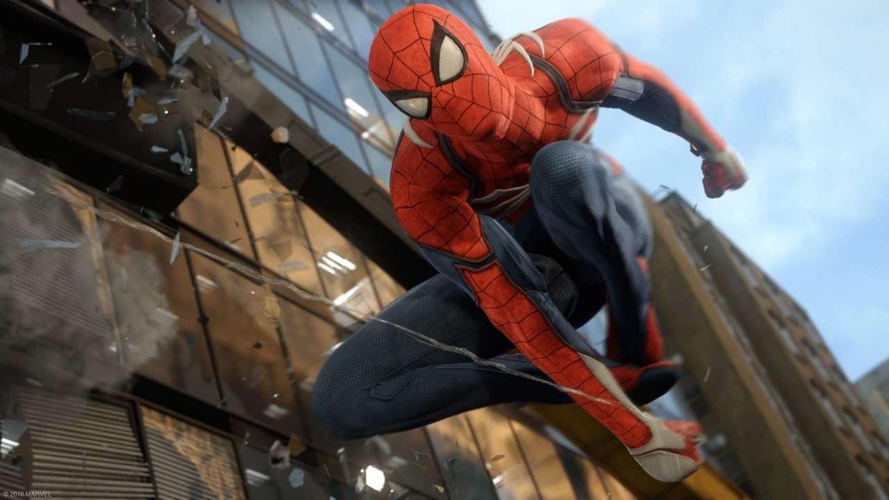 spider man web slingeren goud new york