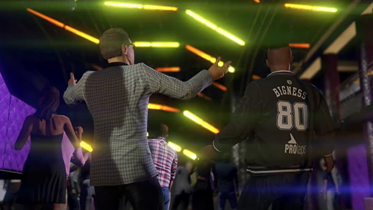 GTA Online After Hours club party