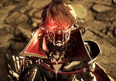 Code Vein looking mask glow eyes