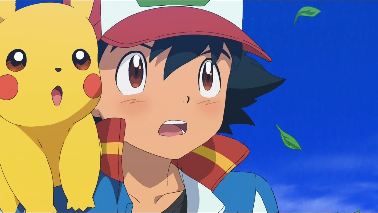 Pokemon film ash pikachu