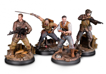 Call of Duty statues zombies black ops