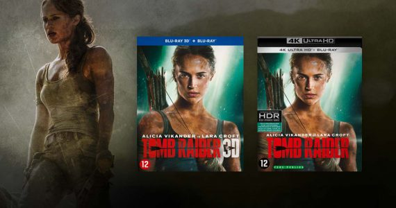 Tomb Raider movie packshot UHD