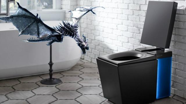 Skyrim smart toilet