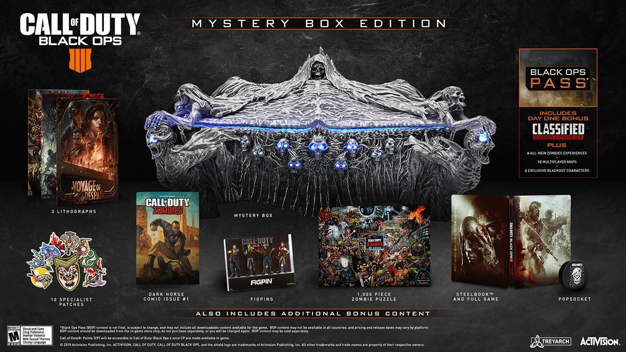 black Ops 4 mystery box content
