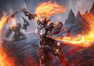 Darksiders III fury flaming weapons