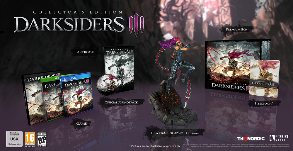 darksiders III collector's edition figurine