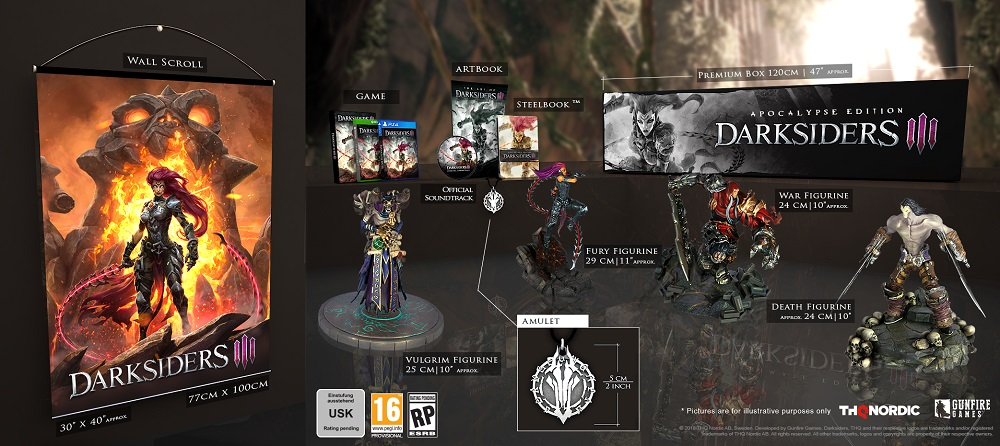 darksiders III figurines edition