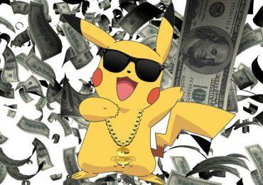 pokemon money dancing pikachu