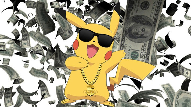 pokemon money dancing pikachu