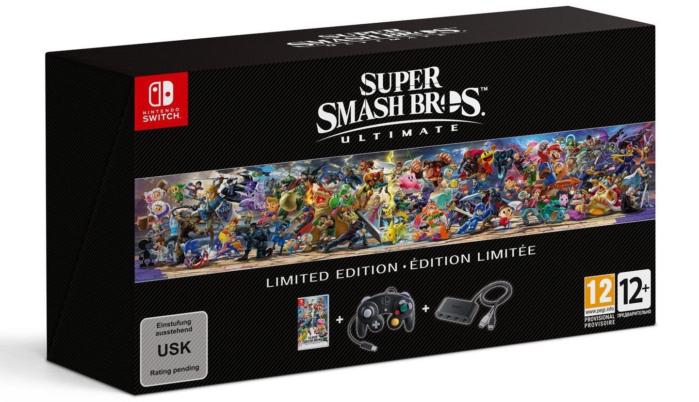 Super smash bros ultimate limited edition package box gamecube controller