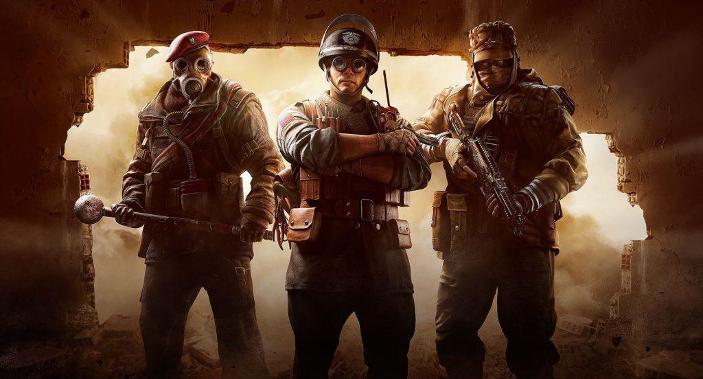 Rainbow Six Siege operators wall