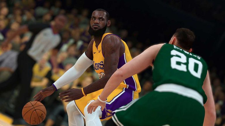 NBA 2K19 lebron