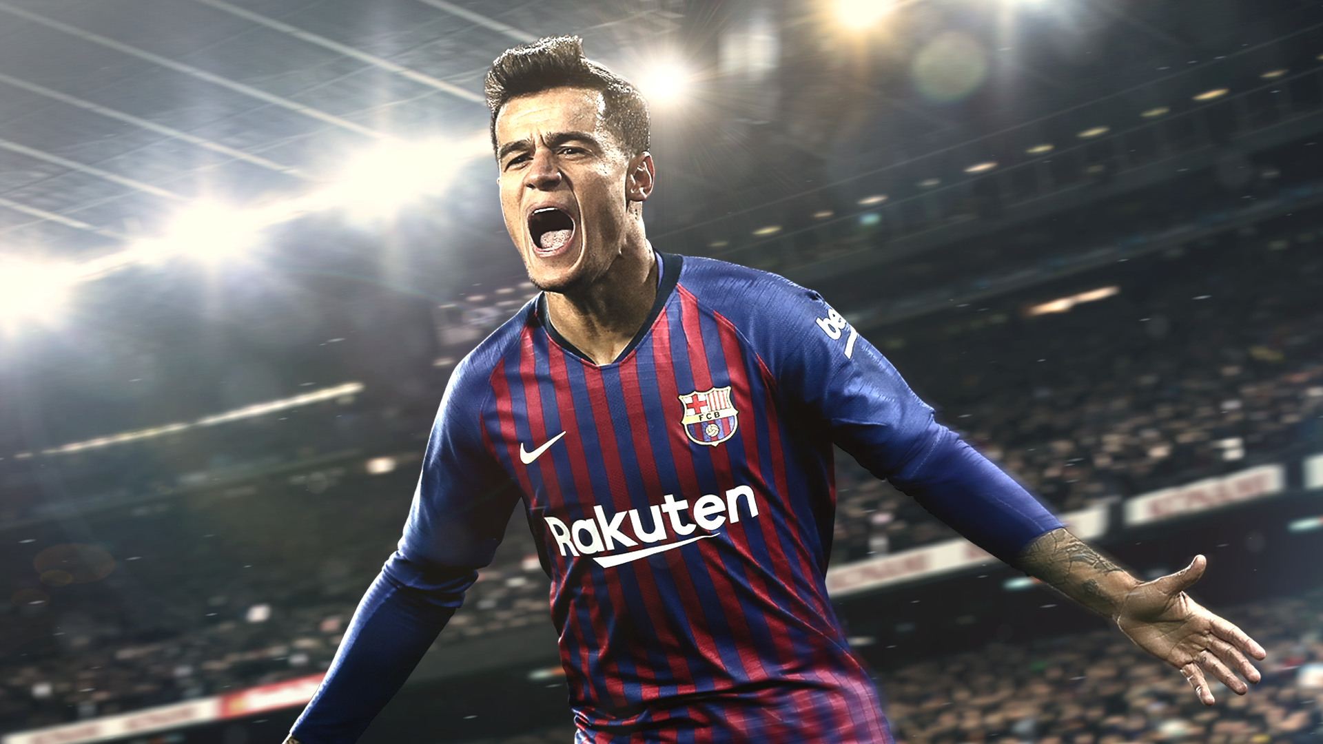 PES 2019 review key art