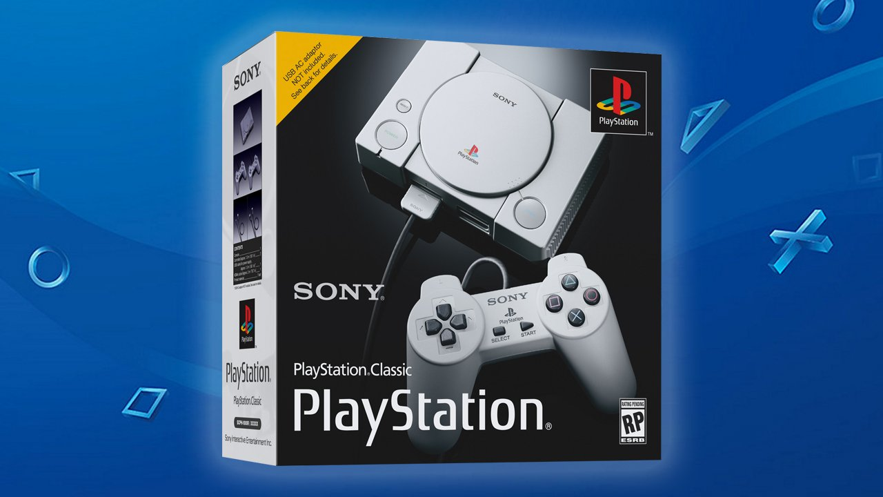 playstation classic verpakking