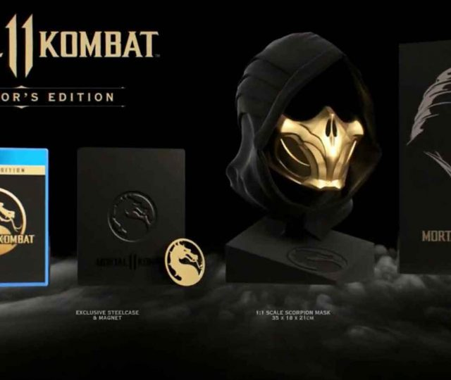 Mortal Kombat 11 scorpion mask