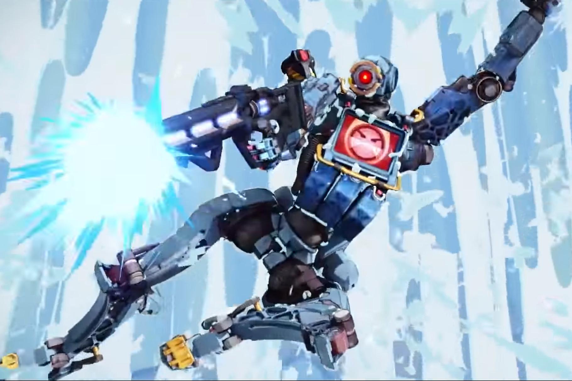 Havoc apex legends robot