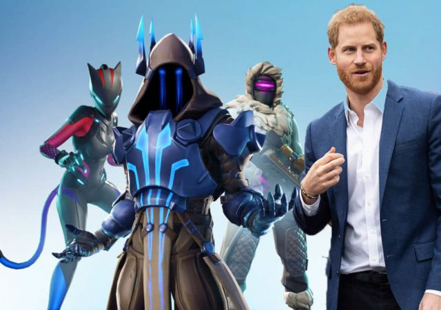 Prins Harry Fortnite