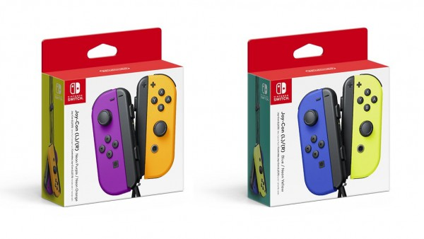 Joy con colors