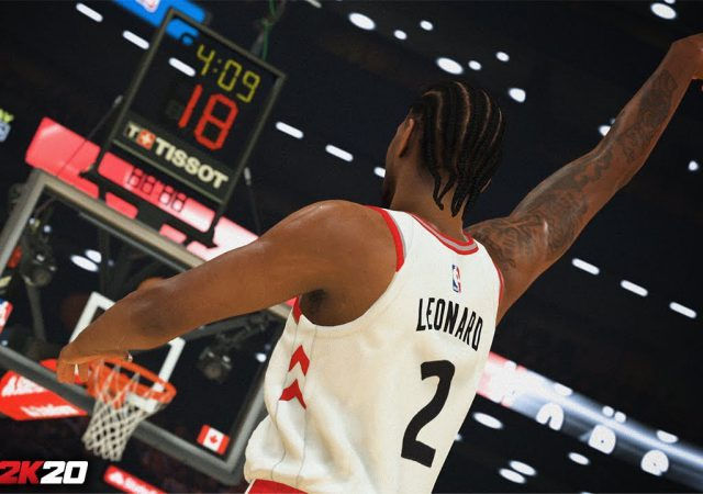 NBA 2K20 Leonard