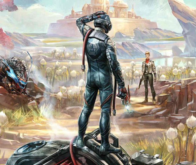 The outer worlds keyart