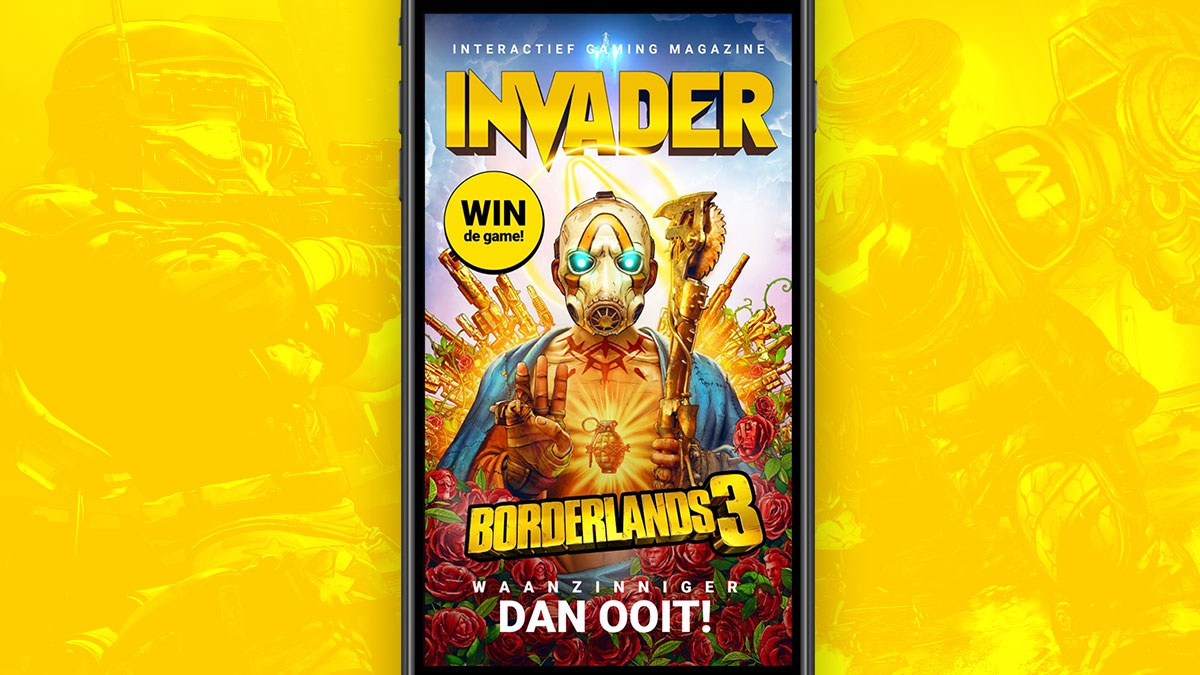 cover invader magazine borderlands 3