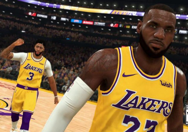 NBA 2K20 lebron james