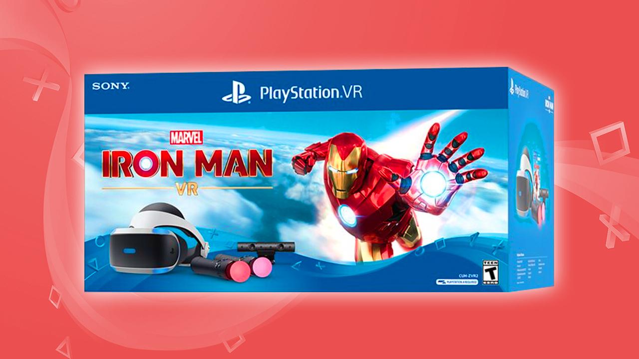 Iron Man vr bundle