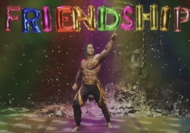 mortal kombat 11 friendships liu kang