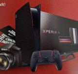PS5 zwart rood
