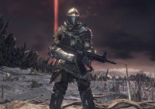 dark souls rifle mod