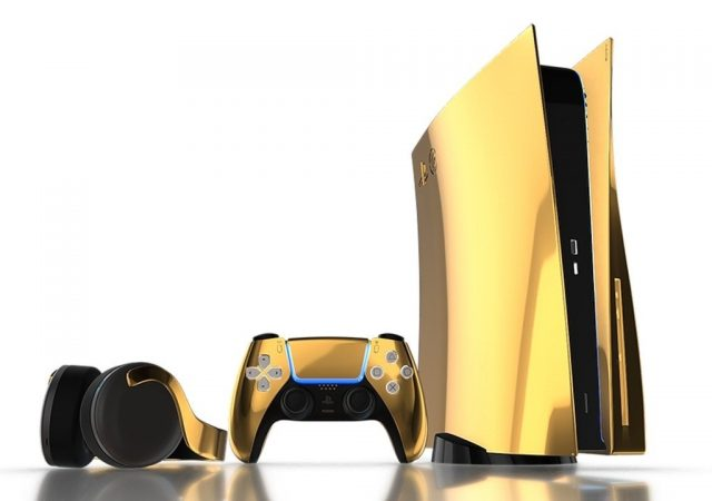 gold PS5