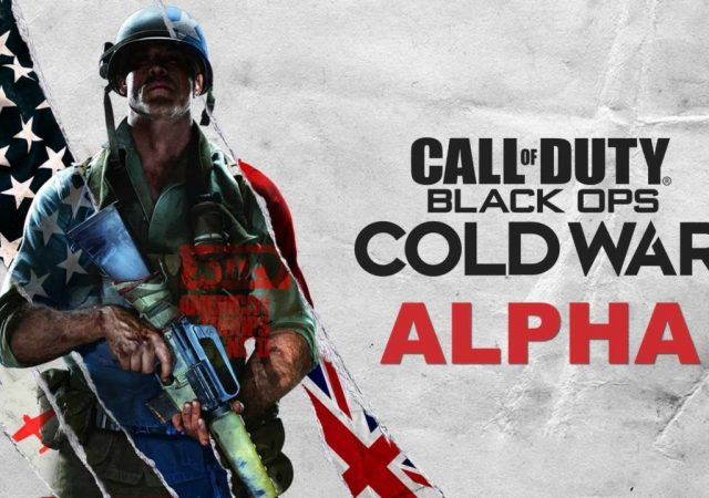 Call of duty cold war alpha