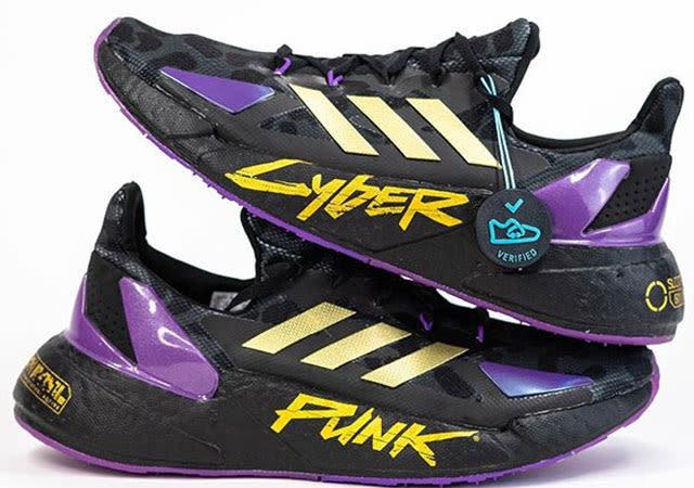 cyberpunk adidas