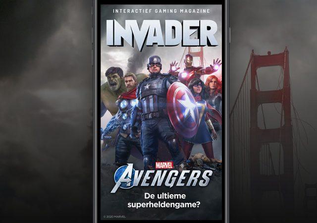 Marvel's Avengers cover