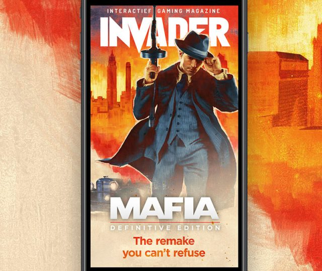 mafia magazine cover invader