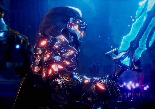 3 godfall for ps5 pc gets new trailer showing combat gameplay in action boss battle